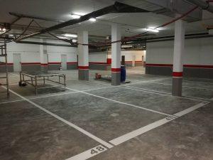 pintar garajes y parkings en Donostia San Sebastian pintores