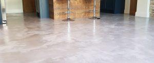 suelo de micro cemento en Donostia pintores